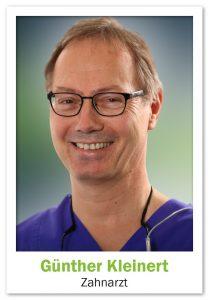 Zahnarztpraxis Dellbrück - Portrait Günther Kleinert