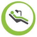 Icon zu Zahnheilkunde, Mundheilkunde und Kieferheilkunde