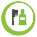 Icon für Zahnpflege und Schutz